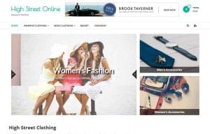 clothing ready made ecommerce website for sale